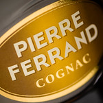 Ferrand Cognac Label (detail), photo © 2015 Douglas M. Ford. All rights reserved.