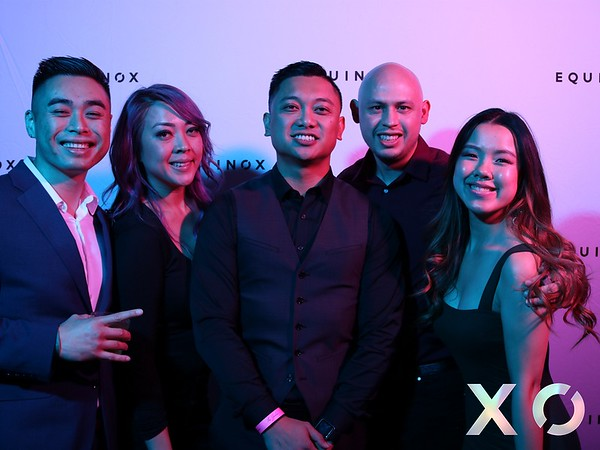 Equinox West Holiday Party 12/8