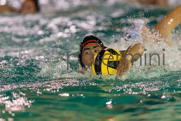 Oxy Men's Water Polo vs Connecticut College 9-29-14