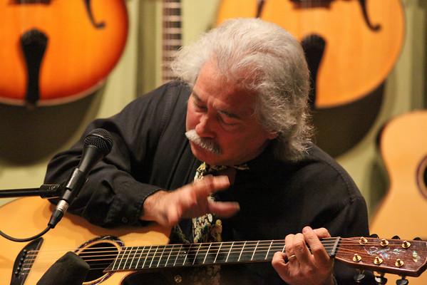 Stephen Bennett at Artisan Guitars 2008