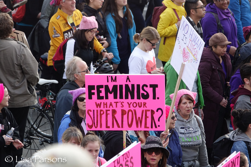 I'm a Feminist.  What is Your Super Power?