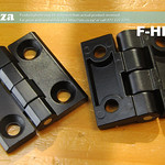 SKU: F-HINGE, 2 Pieces of Hinge Set Replacements for FastCOLOUR Large Format Printer