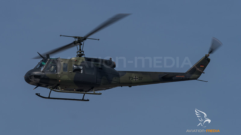German Army Aviation WTD 61 / Bell UH-1D Huey / 73+37