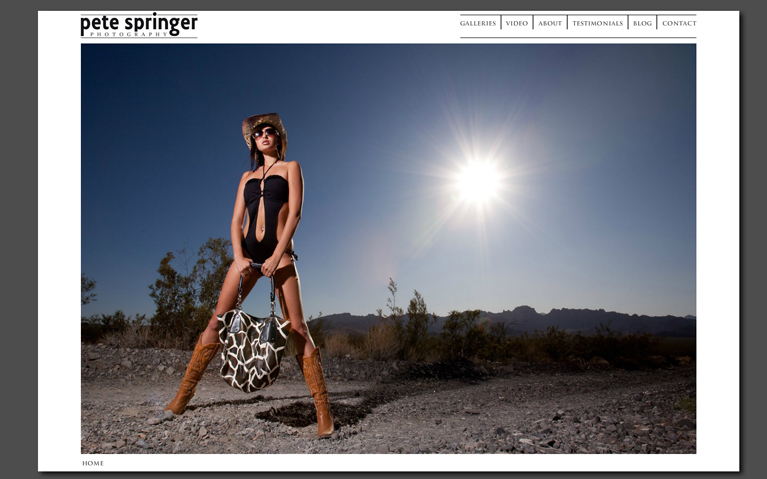 screenshot of old flash website