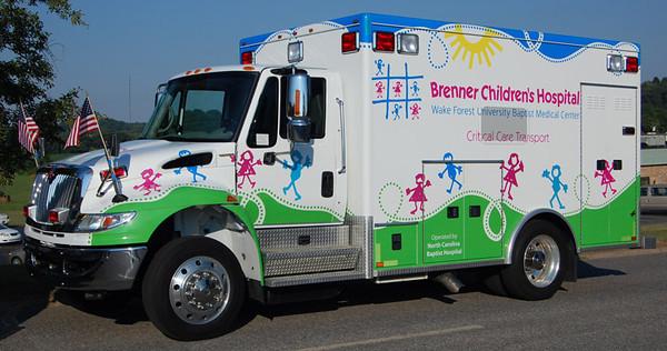 Wake Forest University Brenner Children's Hospital Critical Care Transport