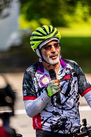 Dan Hurwitz Cross Country Ride - Bedford MA 08.22.2019