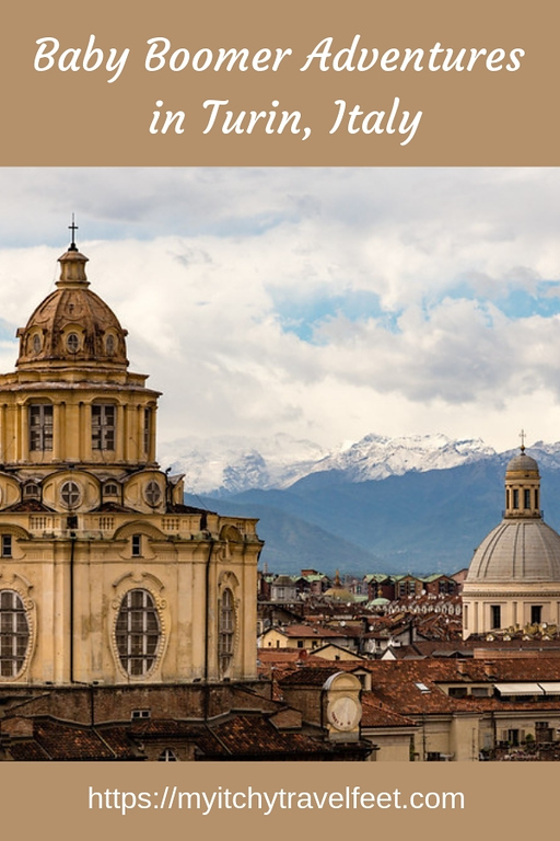 Baby boomer adventures in Turin, Italy.