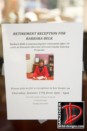 Barbara Belk CCLP Retirement 1-17-13