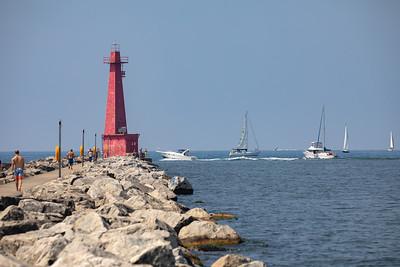 Muskegon Lighthouses