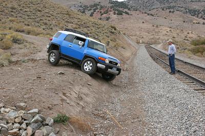 Battle Born Cruisers, Jumbo Grade Trail Run, October 08