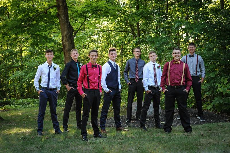 9-29-18 Bluffton HS Homecoming - Eden Nygaard and friends - 10th grade (Class of 2021)-29.jpg