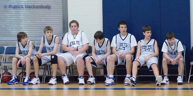 2010-12-15 8th Grade Boys Basketball