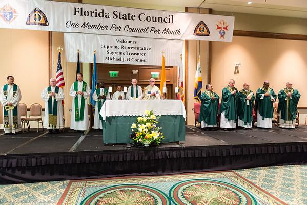 Friday: Opening Mass