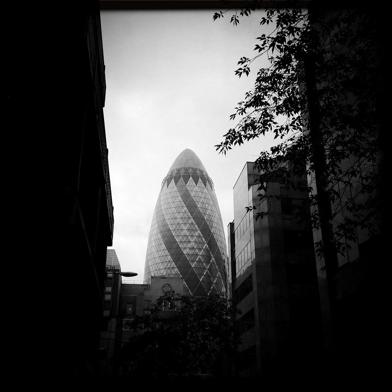 . A general view of the 30 St Mary Axe on May 1, 2012 in London, England.  (Photo by Vittorio Zunino Celotto/Getty Images)