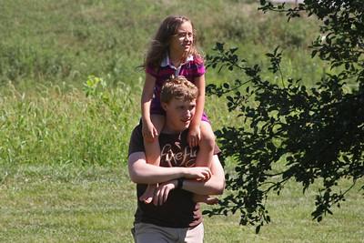 Bill family visit 2011
