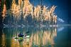 """""""Paddling Taylor Lake"""" I, Banff National Park, Alberta, Canada."""
