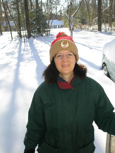 Lori and Tex January Snow 2010