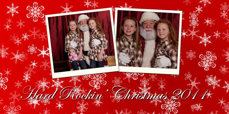 hard rockin' Christmas Day 2