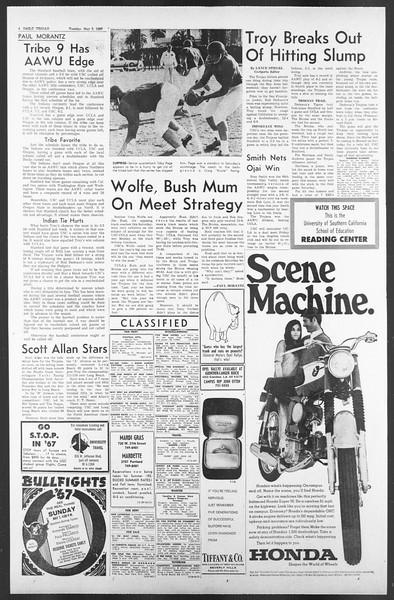 Daily Trojan, Vol. 58, No. 115, May 02, 1967