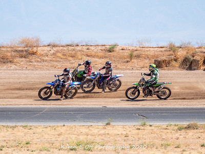 Flat Track Race 21 June 2020
