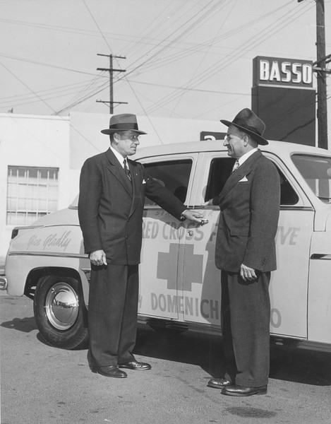 1940s, Red Cross Car