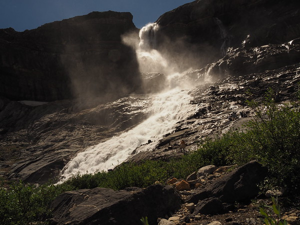 Bow Glacier Falls - July 14