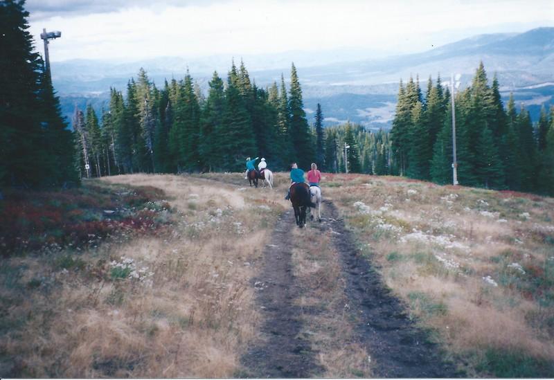 Riding horses down Mt. Spokane ski area.jpeg
