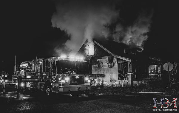 Detroit MI, House Fire 1-9-2021 #5