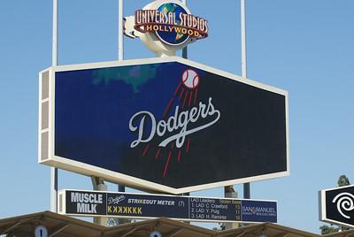 San Francisco GIants @ Los Angeles Dodgers