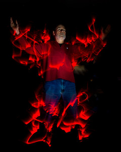 In House Light Painting Demo