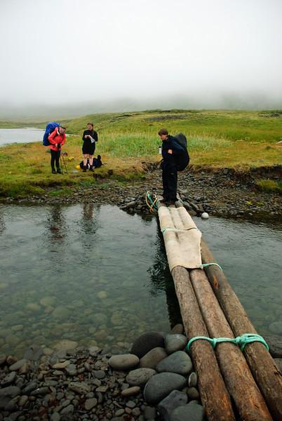 Þorbjörg, Erna, Eiríkur og brúin hennar Laufeyjar