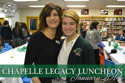 Legacy Luncheon - January 2014