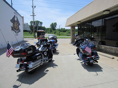 Hog Chapters 5th annual Independence day ride July 3rd 2011