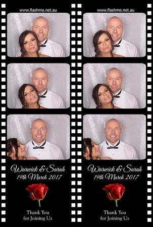 Warwick & Sarah's Wedding - 19 March 2017