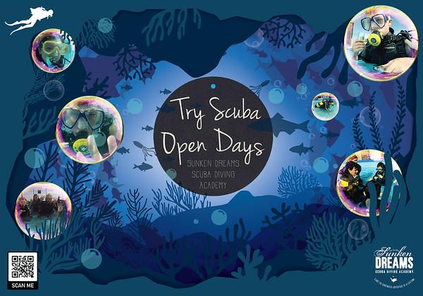 Sunken Dreams Open Day Experiences