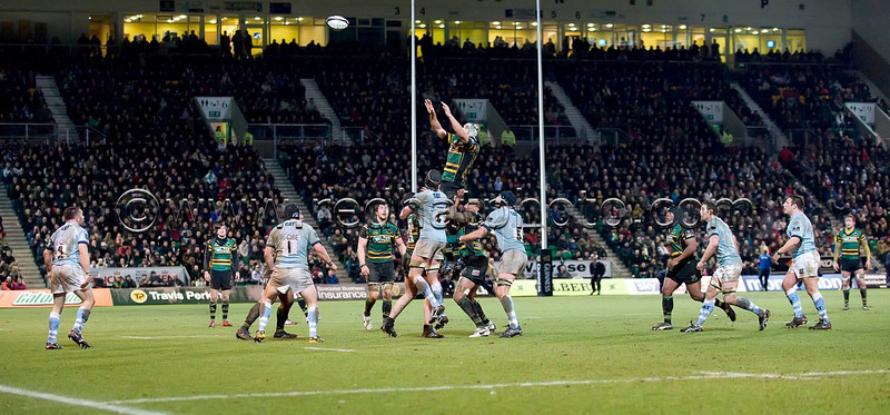 Claire's Favourite 50, Northampton Saints vs Leicester Tigers, Guinness Premiership, 23 February 2010