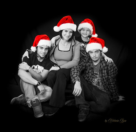 Michelle Johnson Christmas Shoot