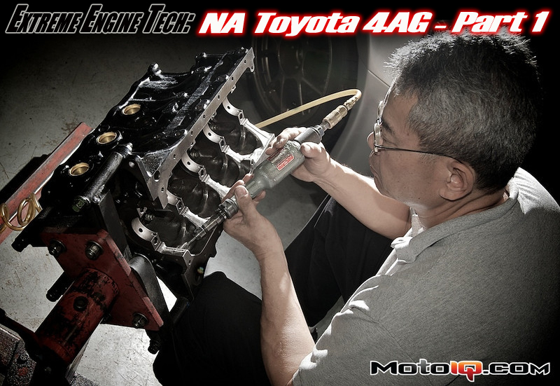 Technosquare Howard Watanabe 4AG Engine Build