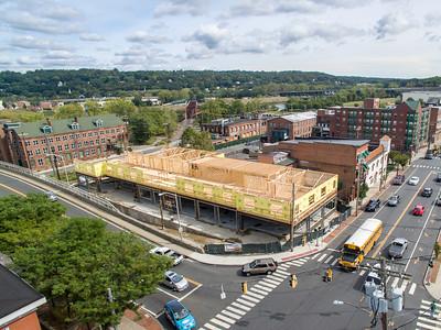 Bridge Street Commons Construction (Shelton, CT) 9/20/15
