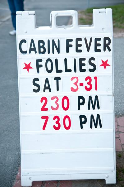 Cabin Fever Follies, Showcase