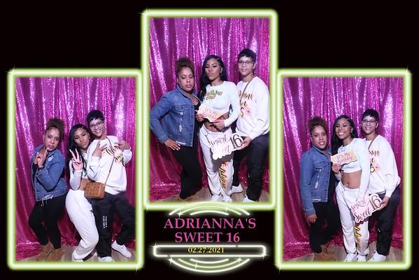 ADRIANNA'S SWEET 16