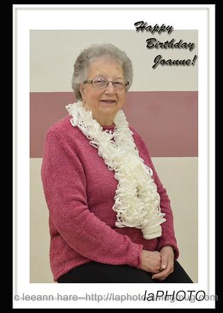 80th Birthday for Joanne K