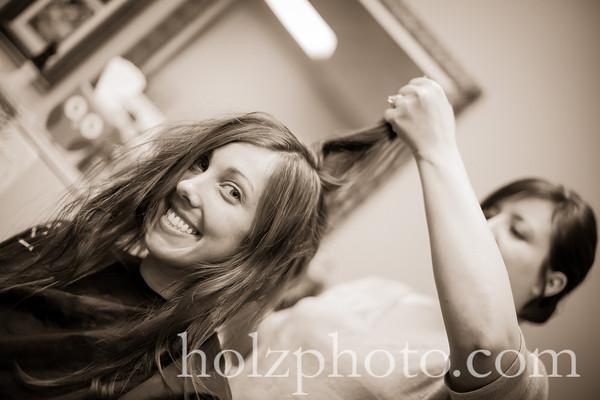 Kristina & Travis Creative Wedding Photos