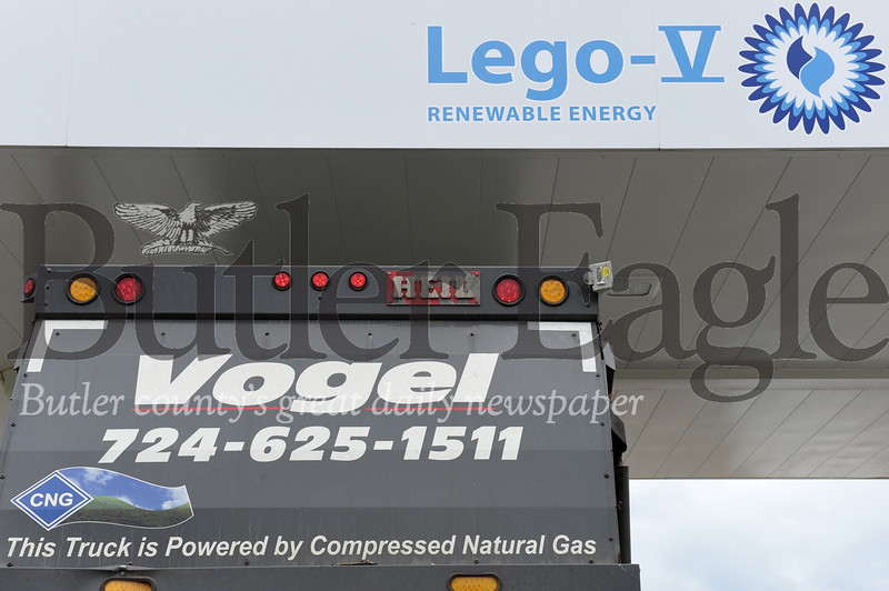 Harold Aughton/Butler Eagle: Vogel received a grant to open CNG stations in several counties.