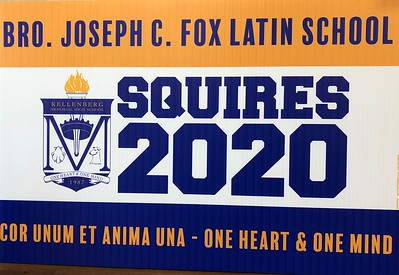 Squire Lawn Sign Drop Off –May 27, 2020