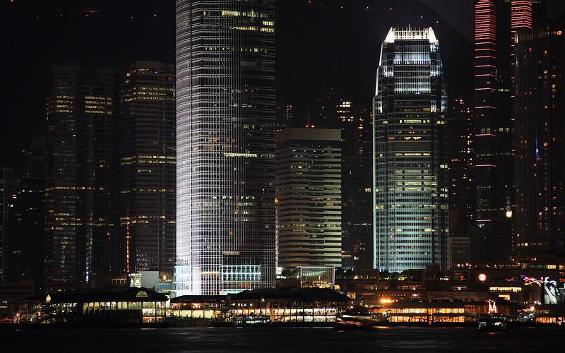 IFC at Night: Hong Kong