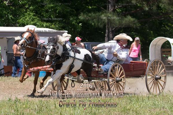 Sunday BuckBoards East of The Mississippi Chuckwagon Races