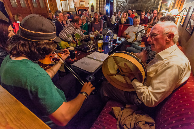 Bofey Quinn's Restaurant & Traditional Music Pub, Corofin, Ireland
