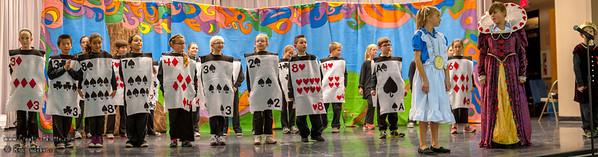 Hurley School - Alice in Wonderland Play 1-31-2014