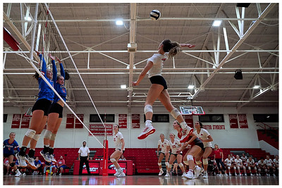 Frankton Volleyball vs Elwood 9-16-21